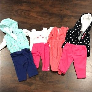 Bundle of 4 outfits